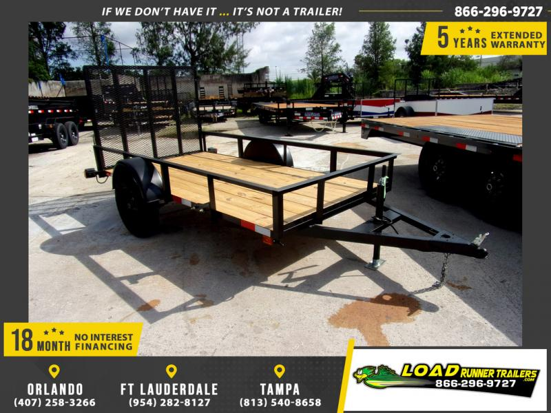 *110318* 5x10 Utility|Lawn|ATV|Multipurpose Trailer |LRT Haulers & Trailers 5 x 10