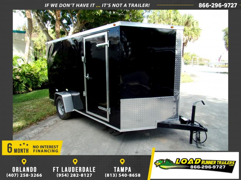 *113767* 7x12 Enclosed Cargo Trailer |LRT Haulers & Trailers 7 x 12
