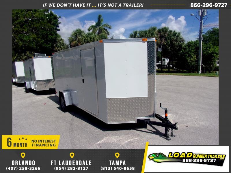 *115734* 6x14 Enclosed Cargo Trailer |LRT Haulers & Trailers 6 x 14