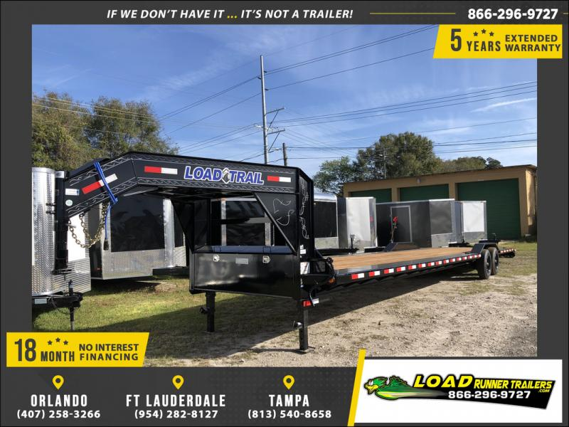 *108132* 8.5x40 Gooseneck Car Trailer |LRT Haulers & Trailers 8.5 x 40