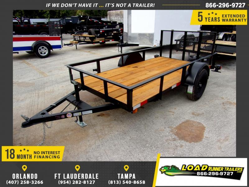 *117432* 5x10 Utility|Lawn|ATV|Multipurpose Trailer |LRT Haulers & Trailers 5 x 10