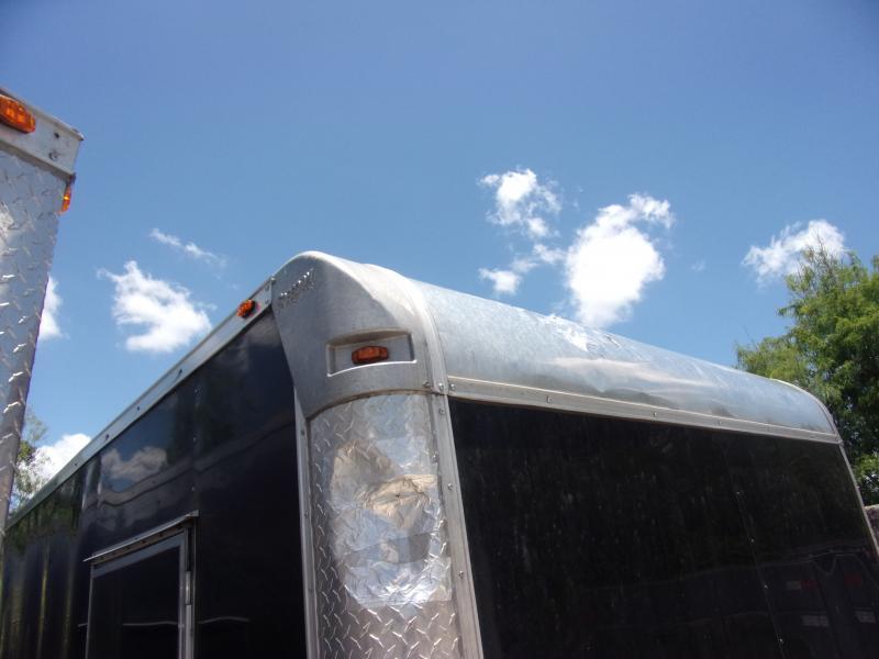 *114288* 8.5x36 Enclosed 2 Car Hauler Cargo Trailer 8.5 x 36