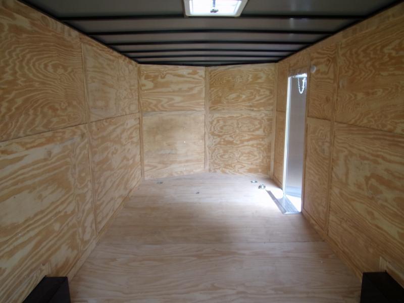 *117359* 8.5x24 Enclosed Cargo Trailer  LRT Tandem Axle Trailers 8.5 x 24