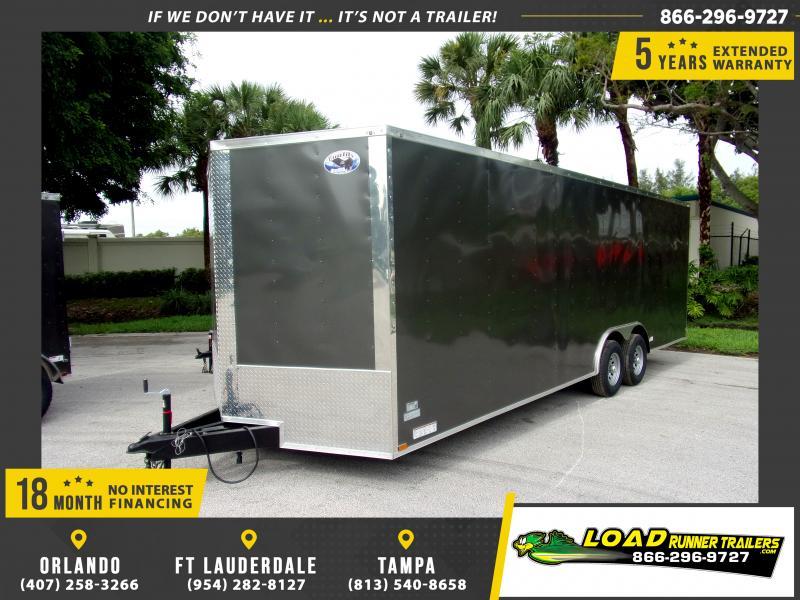 *117359* 8.5x24 Enclosed Cargo Trailer |LRT Tandem Axle Trailers 8.5 x 24