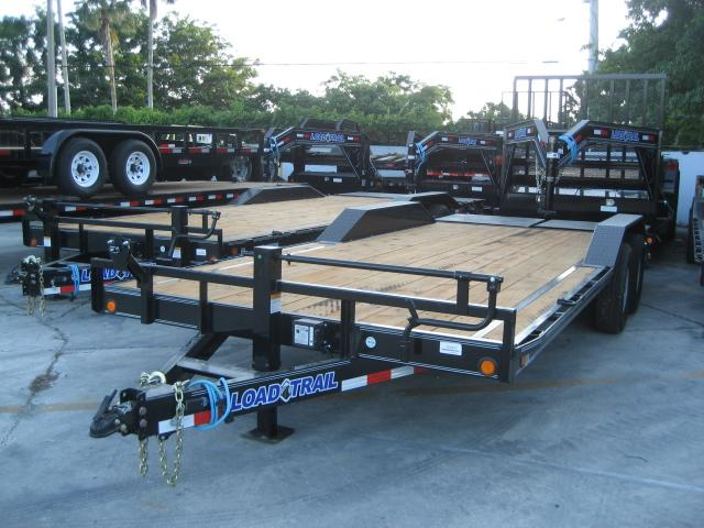 *EQ30* 8.5x20 7 TON Equipment & Car Hauler Trailer |LR Trailers 8.5 x 20 | EQ102-20T7-DOF/MPD