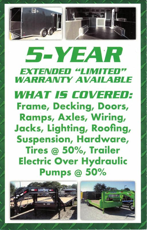 *EQ30* 8.5x20 7 TON Equipment & Car Hauler Trailer  LR Trailers 8.5 x 20   EQ102-20T7-DOF/MPD