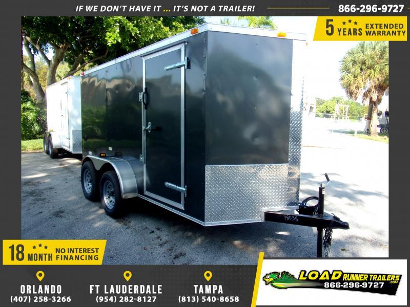 *112354* 6x12 Enclosed Cargo Trailer |LRT Tandem Axle Trailers 6 x 12