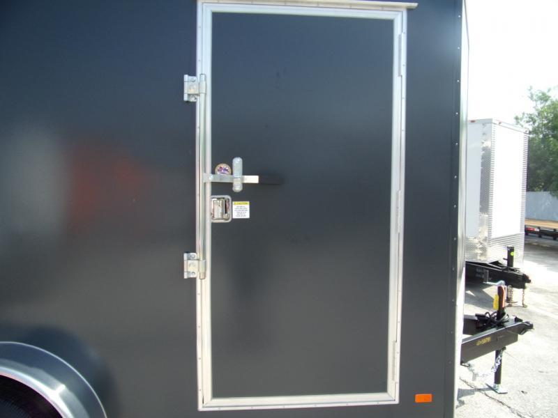 *109581* 7x14 Enclosed Cargo Trailer |LRT Tandem Axle Trailers 7 x 14