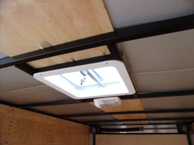*111821* 6x12 Enclosed Cargo Trailer |LRT Haulers & Trailers 6 x 12