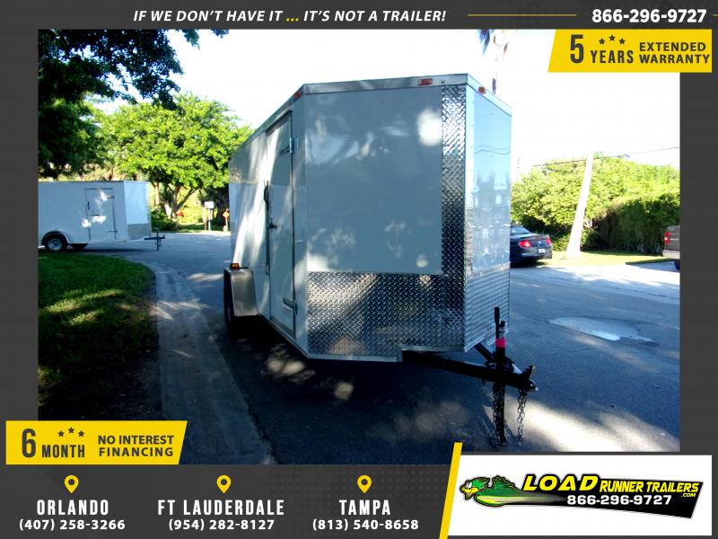 *111821* 6x12 Enclosed Cargo Trailer |LRT Haulers & Trailers 6 x 12
