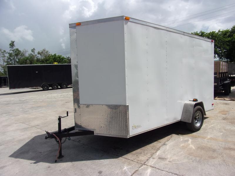*114014* 6x12 Enclosed Cargo Trailer |LRT Haulers & Trailers 6 x 12