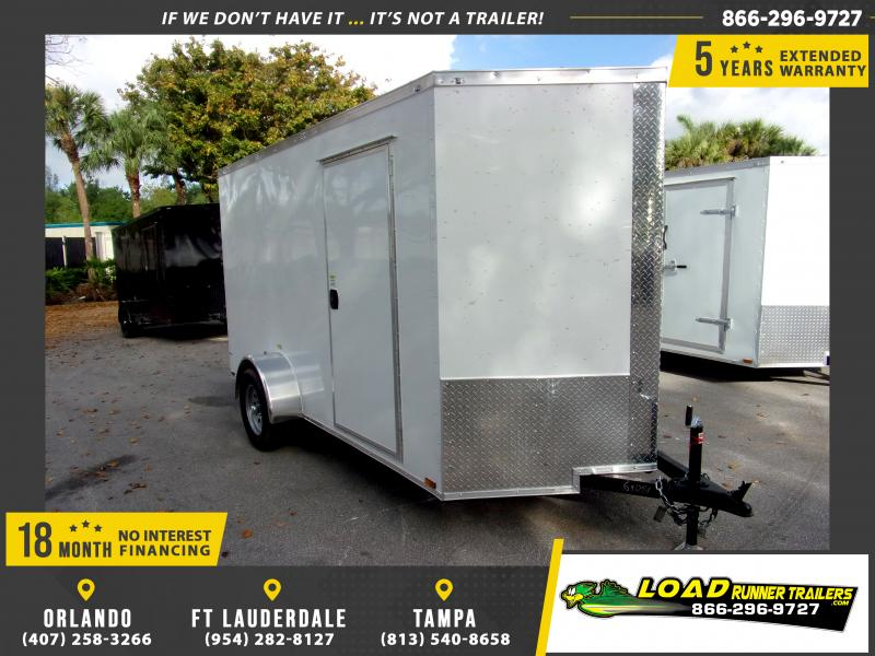 *115937* 6x12 Enclosed Cargo Trailer |LRT Haulers & Trailers 6 x 12