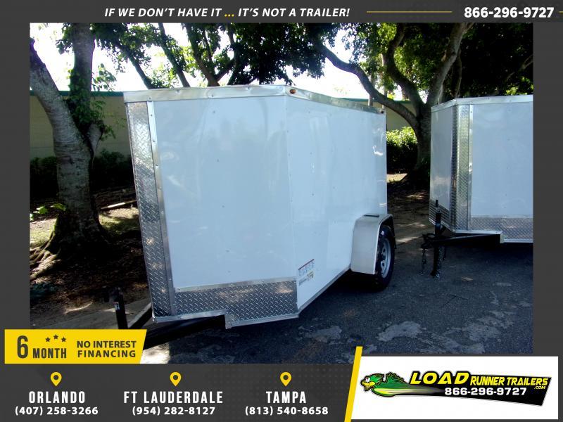 *117977* 5x8 Enclosed Cargo Trailer |LRT Haulers & Trailers 5 x 8