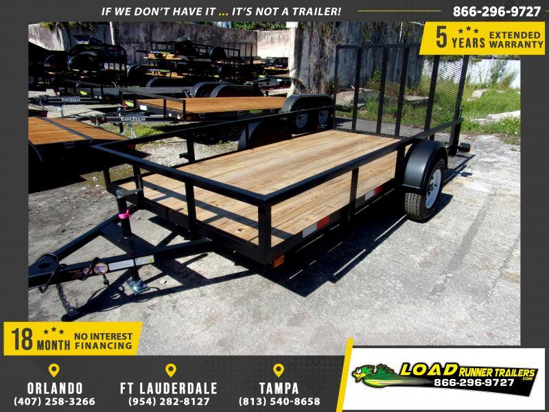 *110068* 6x12 Utility|Lawn|ATV|Multipurpose Trailer |LRT Haulers & Trailers 6 x 12