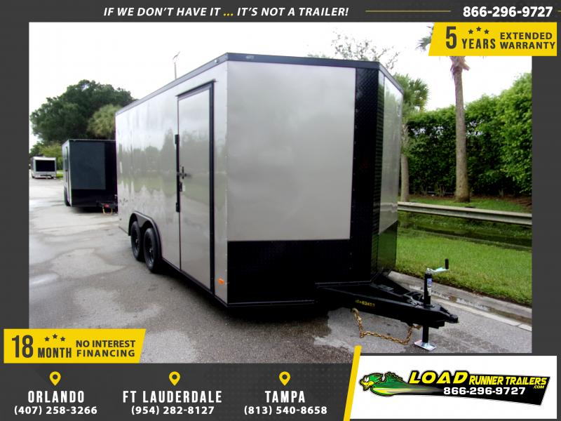 *110458* 8.5x28 Enclosed Cargo Trailer |LRT Tandem Axle Trailers 8.5 x 28