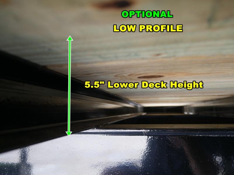 *FG14* 8.5x34 Flatbed Gooseneck Deck Over Trailer 10 TON|20K Trailers 8.5 x 34 | FG102-34T10-LP/MPD