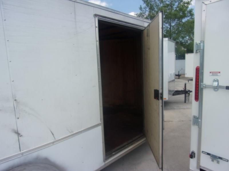 *115455* 7x16 Enclosed Cargo Trailer |LRT Tandem Axle Trailers 7 x 16