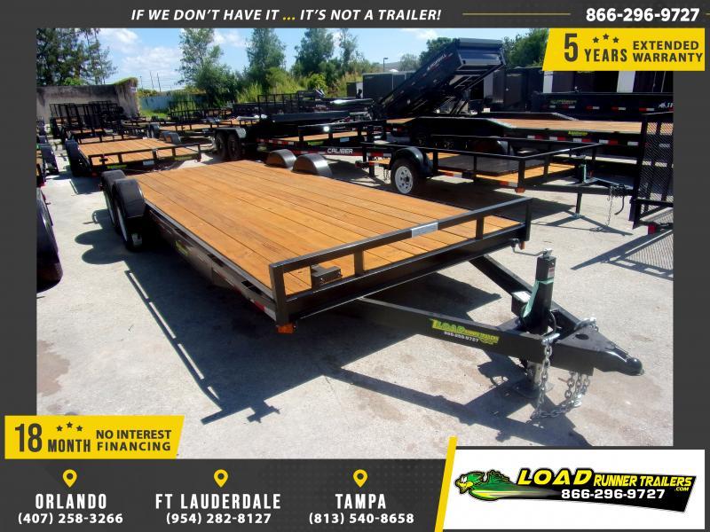 *CH35* 7x20 Car Trailer |LRT Tandem Axle Trailers 7 x 20 | CH83-20T3-1B