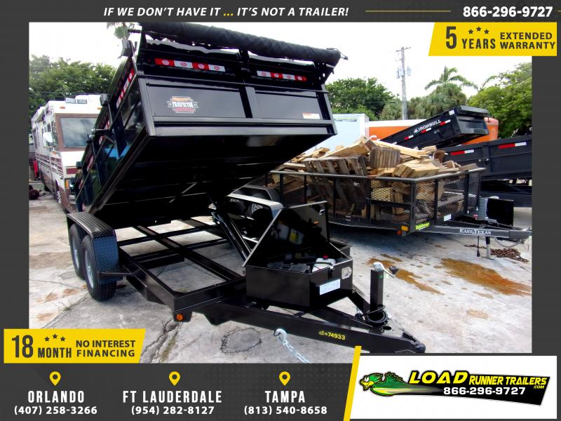 *117754* 6x12 5 TON Dump Trailer |LRT Trailers & Dumps 6 x 12