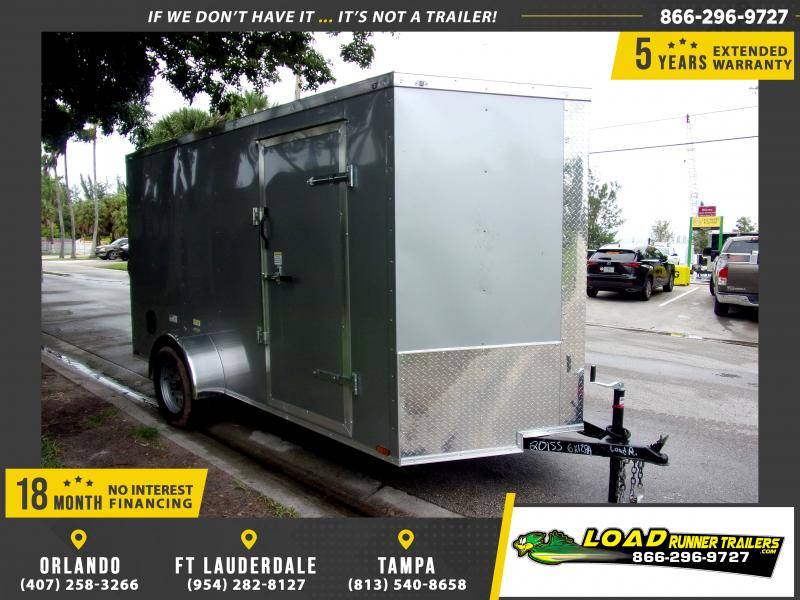 *111673* 6x12 Enclosed Cargo Trailer |LRT Haulers & Trailers 6 x 12