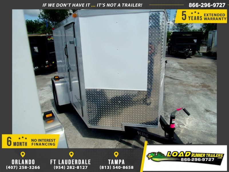 *111362* 5x8 Enclosed Cargo Trailer |LRT Haulers & Trailers 5 x 8