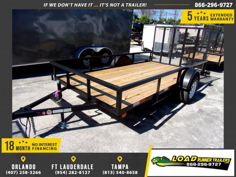 *113554* 6x12 Utility Lawn ATV Multipurpose Trailer  LRT Haulers & Trailers 6 x 12