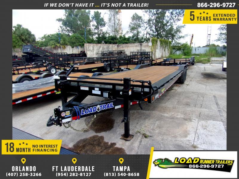 *115453* 8.5x32 Car Trailer |LRT Tandem Axle Trailers 8.5 x 32