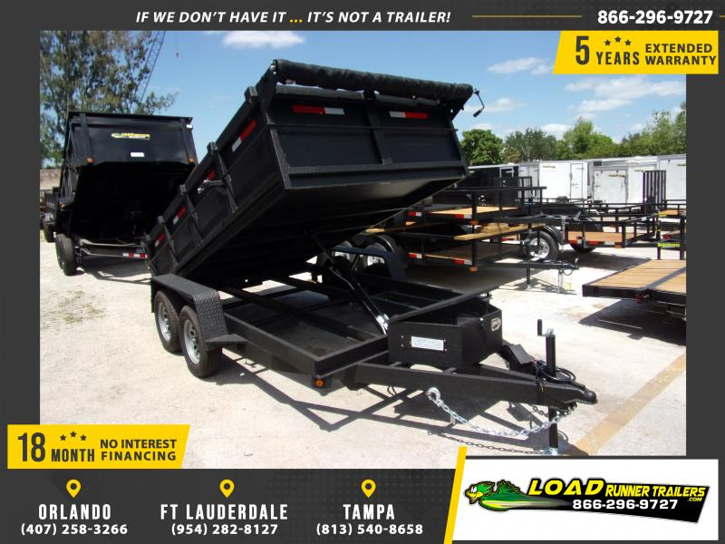 "*114945* 6x12 7K Dump Trailer W/27"" Sides 6 x 12"
