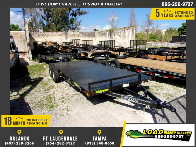 *113558* 7x18 Car Trailer |LRT Tandem Axle Trailers 7 x 18