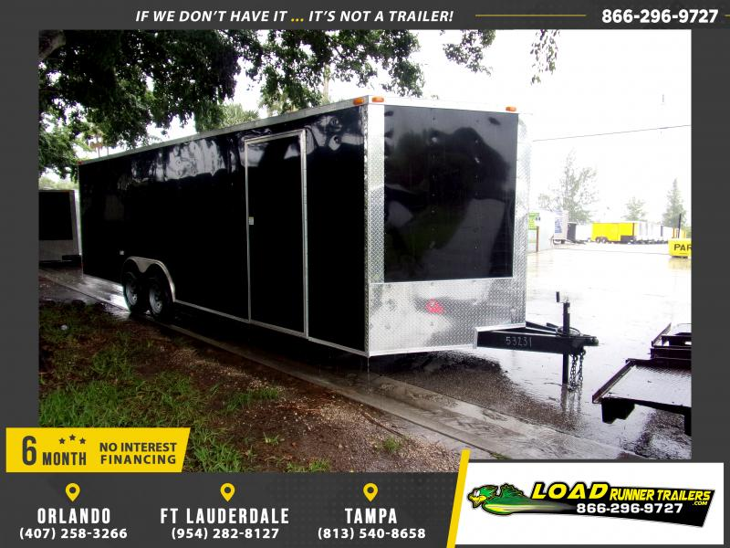 *117019* 8.5x24 Enclosed Cargo Trailer |LRT Tandem Axle Trailers 8.5 x 24