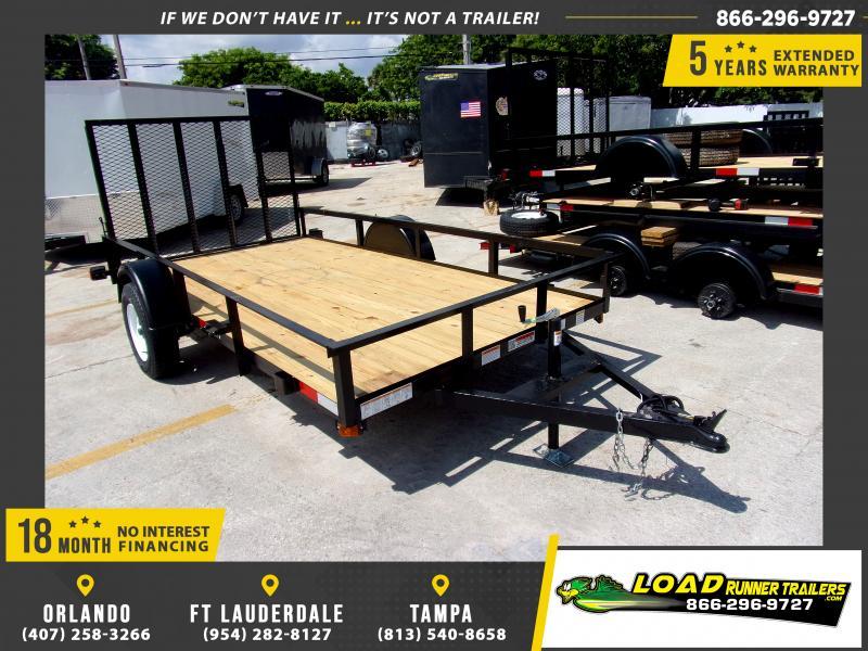 *116679* 6x12 Utility|Lawn|ATV|Multipurpose Trailer |LRT Haulers & Trailers 6 x 12