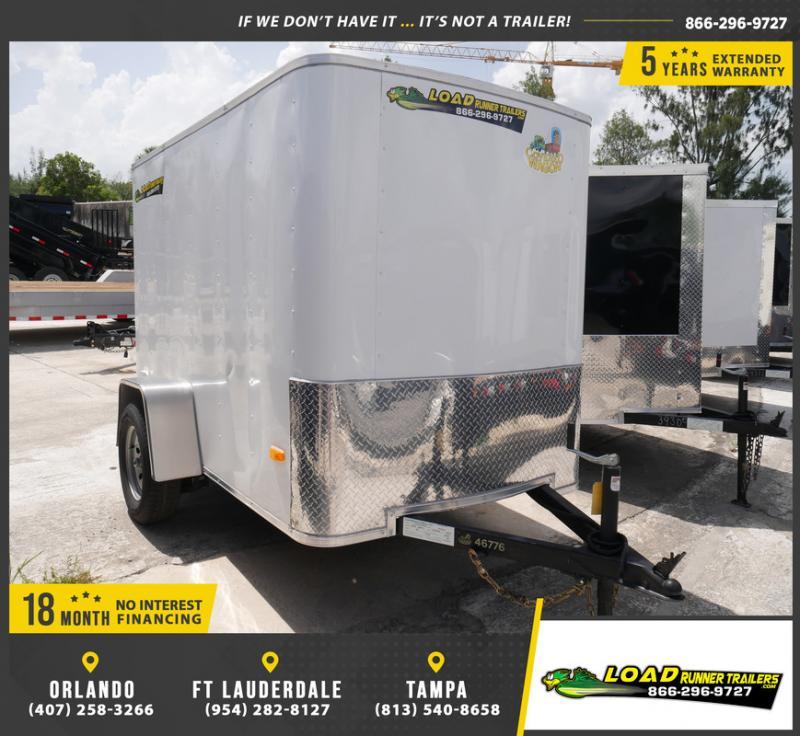 *E1C* 5x8 Enclosed Cargo Trailer |LRT Haulers & Trailers 5 x 8 | EV5-8S3-R