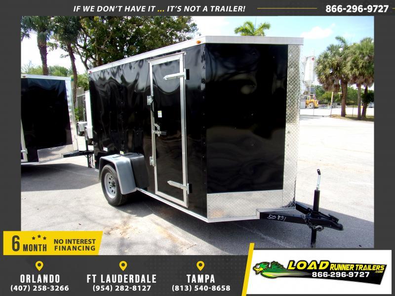 *114638* 5x10 Enclosed Cargo Trailer  LRT Haulers & Trailers 5 x 10