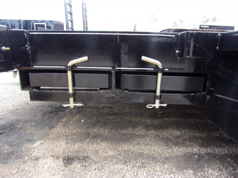 *112258* 7x18 Car Trailer  LRT Tandem Axle Trailers 7 x 18