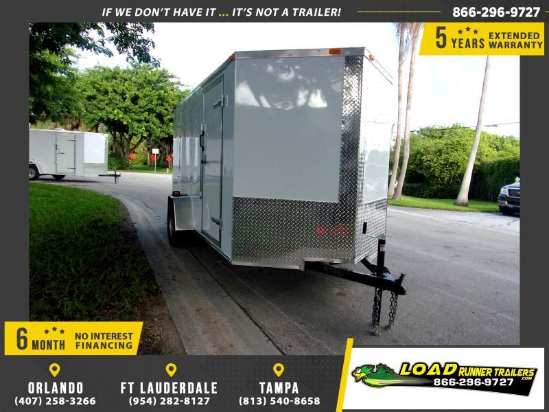 *111691* 6x12 Enclosed Cargo Trailer |LRT Haulers & Trailers 6 x 12