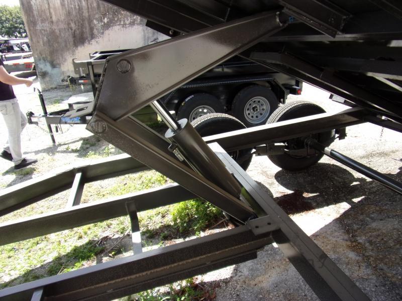 *115351* 7x14 Dump Trailer |LRT Tandem Axle Trailers 7 x 14