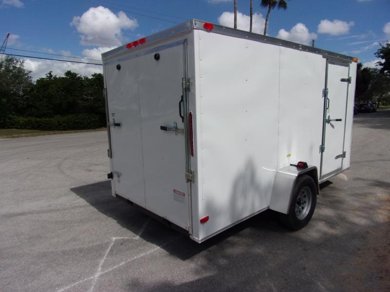 *113737* 6x12 Enclosed Cargo Trailer  LRT Haulers & Trailers 6 x 12