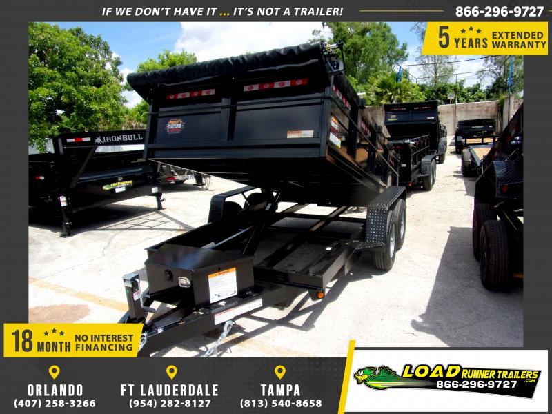 *115967* 6x12 5 TON Dump Trailer |LRT Trailers & Dumps 6 x 12
