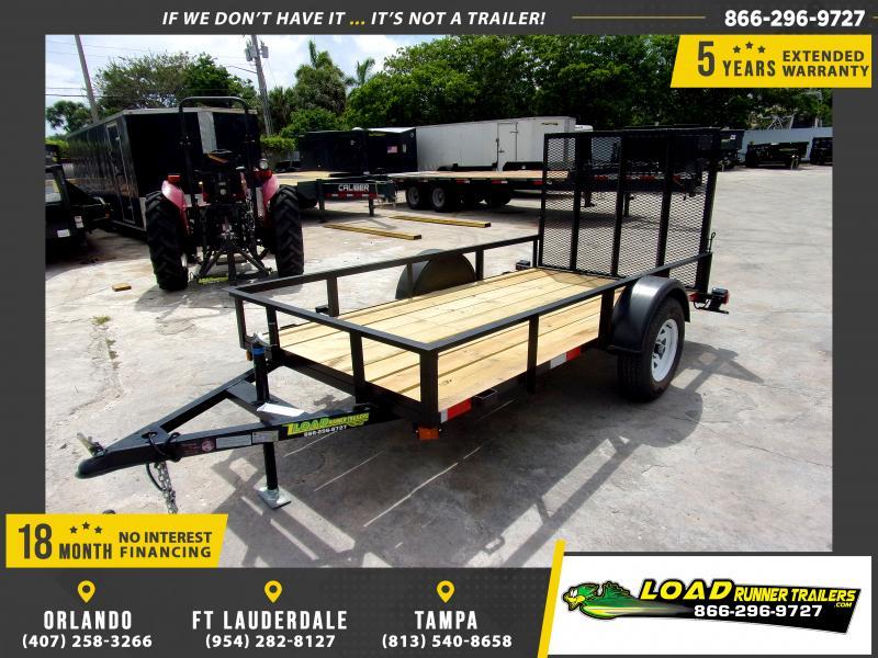 *U25* 5x10 Utility|Lawn|ATV|Multipurpose Trailer |LRT Haulers & Trailers 5 x 10 | U60-10S3-AR