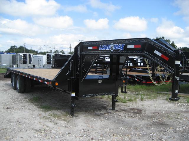 *FG50* 8.5x25 Gooseneck Deck Trailer |10 TON Flatbed Trailers 8.5 x 25 | FG102-25T10-LP/MPD