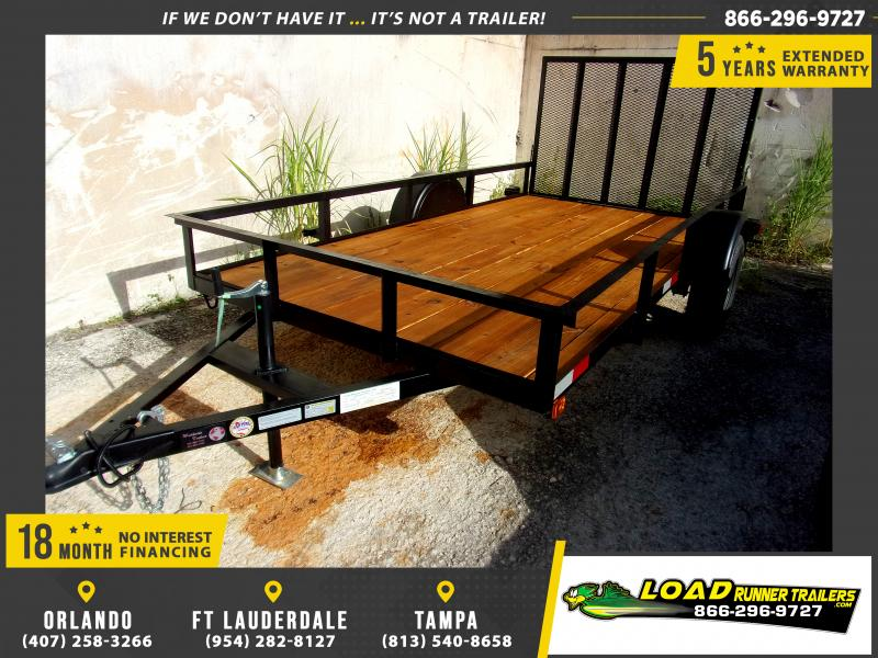 *110631* 6x12 Utility|Lawn|ATV|Multipurpose Trailer |LRT Haulers & Trailers 6 x 12