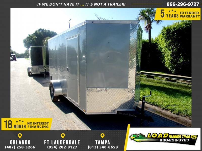 *116441* 6x12 Enclosed Cargo Trailer |LRT Haulers & Trailers 6 x 12