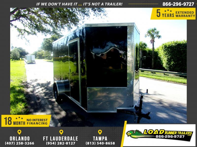 *114370* 6x12 Enclosed Cargo Trailer  LRT Haulers & Trailers 6 x 12