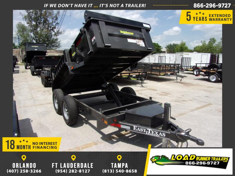 *114805* 5x10 6 TON Dump Trailer |LRT Dumps and Trailers 5 x 10