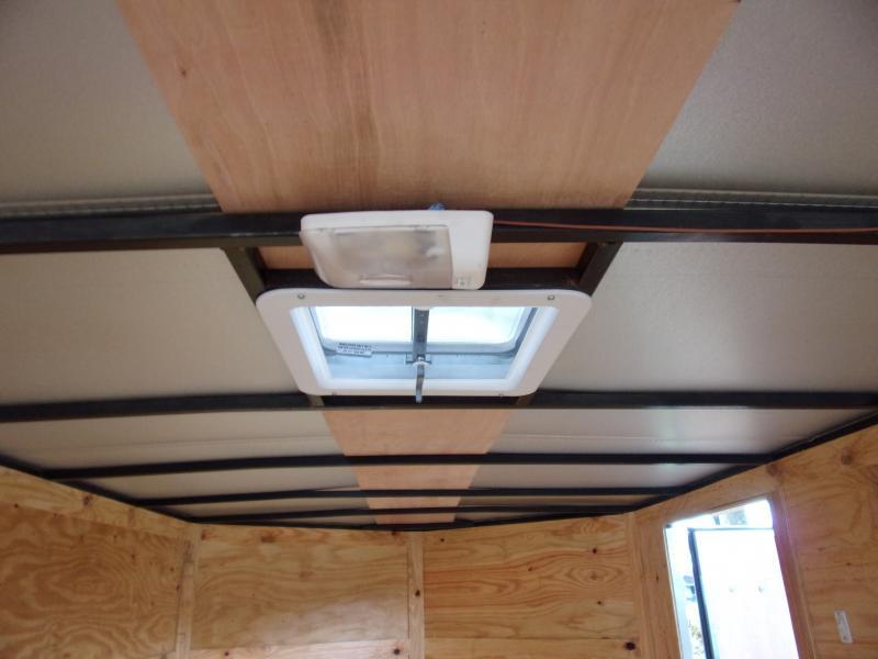 *112393* 7x16 Enclosed Cargo Trailer |LRT Tandem Axle Trailers 7 x 16