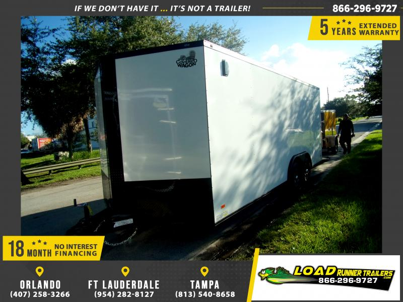 *117920* 8.5x20 Enclosed Cargo Trailer |LRT Tandem Axle Trailers 8.5 x 20