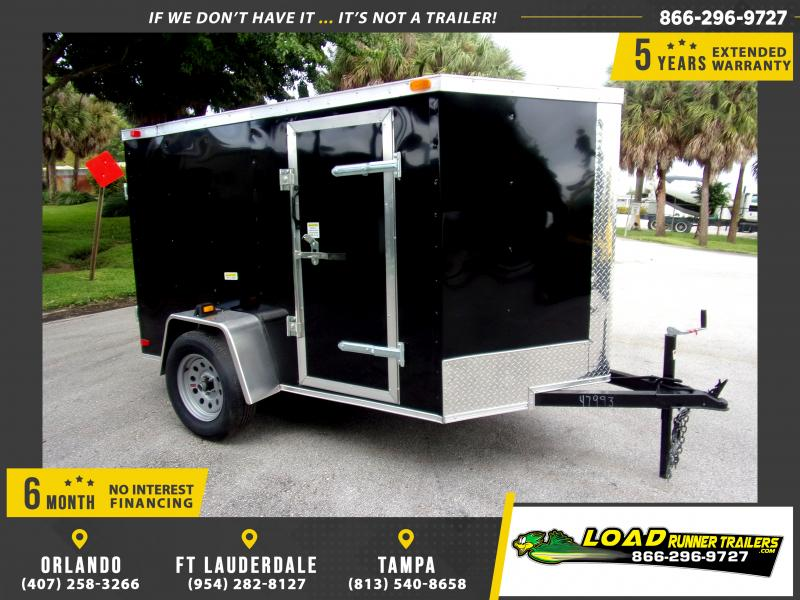 *112272* 5x8 Enclosed Cargo Trailer |LRT Haulers & Trailers 5 x 8