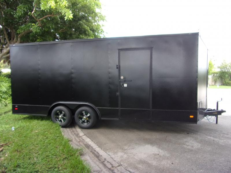 *112042* 8.5x20 Enclosed Cargo Trailer |LRT Tandem Axle Trailers 8.5 x 20