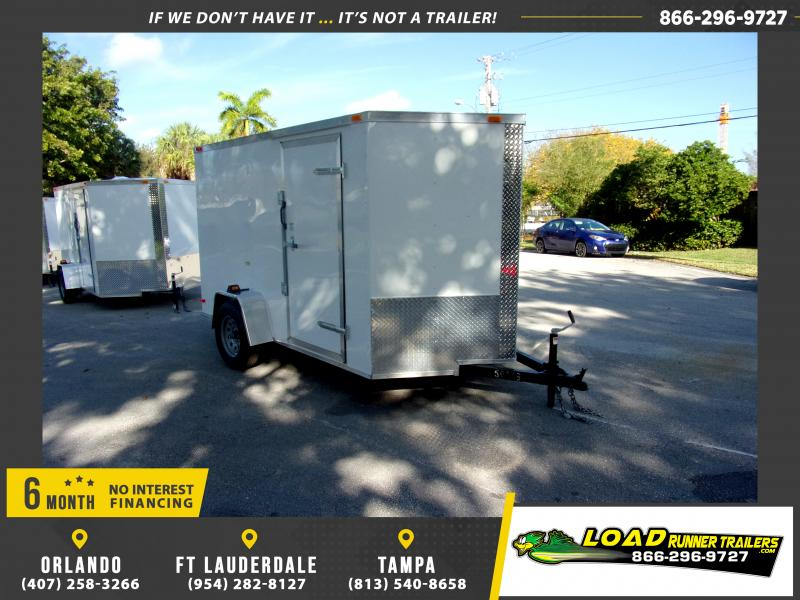 *113837* 6x10 Enclosed Cargo Trailer |LRT Haulers & Trailers 6 x 10