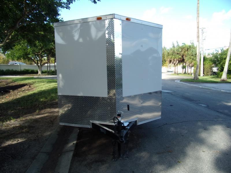 *112482* 7x16 Enclosed Cargo Trailer |LRT Tandem Axle Trailers 7 x 16